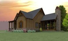 Cheaha Mountain Cottage is a craftsman cottage house plan with porches that will work great at the lake or in the mountains by Max Fulbright Designs. Unique House Plans, Unique Floor Plans, Small House Plans, Porch House Plans, Cottage House Plans, Cottage Homes, Craftsman Cottage, Lake Cottage, Mountain Cottage