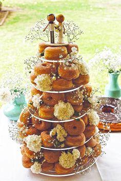 Wedding Cake Alternatives To Save Some Cash ❤ See more: http://www.weddingforward.com/wedding-cake-alternatives/ #weddings