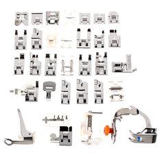 Piedini per macchina da cucire, uno strumento indispensabile per il cucito creativo e non. Quali sono e a cosa servono.