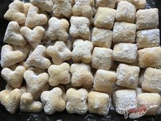 Czech Recipes, Russian Recipes, Christmas Sweets, Christmas Baking, Xmas Cookies, Cake Cookies, Food Hacks, Baking Recipes, Good Food