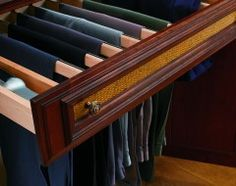 Different Way To Hang Pants   Keeps Them Cleaner, Too! Organization  IdeasStorage ...