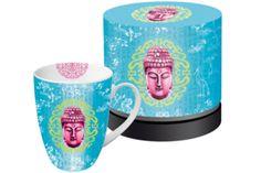 www.gifthaus.co.za Buddhas Garden Mug Tea Time, Porcelain, Mugs, Tableware, Garden, Porcelain Ceramics, Dinnerware, Garten, Tumblers