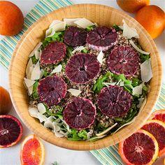 Blood Orange Salad by seasonedsprinkles - #KeepOnCooking #Dairy #Cheese #Fruit #GlutenFree #Entree #Entrée #Salad #Vegetable #Vegetables
