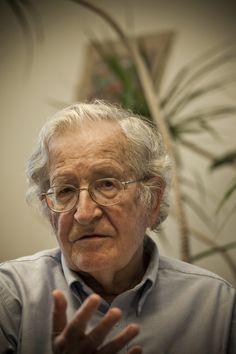 Noam Chomsky. Smart is beautiful at any age.