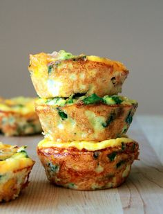 13 Mouthwatering Make-Ahead Breakfasts - They actually look delicious and totally doable.