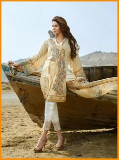 BeechTree Lawn Collection 2016 With Prices #BeechTree #LawnCollection #DressesCollection #SpringSummerLawn