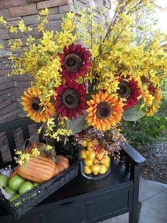 beautiful fall centerpieces