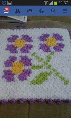 Rugs And Mats, Knit Crochet, Blanket, Knitting, Crafts, Square Patterns, Groomsmen, Sacks, Manualidades