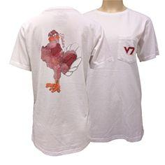 Virginia Tech Watercolor Mascot T-Shirt (White) Virginia Tech Apparel 4aa401e31