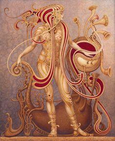 "Saatchi Art Artist Boris Indrikov; Painting, ""SPIRITUS"" #art"