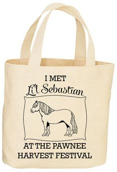A tote Leslie Knope would love.