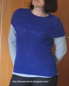 Lana e Cotone (maglia e uncinetto): Maglia