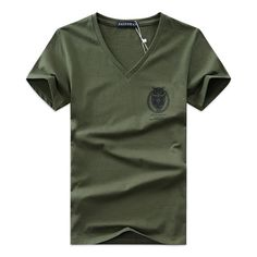 buy best price 2017 summer Hot selling Men V neck t shirt cotton short sleeve tops high quality Casual Men Slim Fit Classic Brand t shirts Casual Tops, Men Casual, T Shirt Court, Buy T Shirts Online, Tee Shirt Designs, Mens Tee Shirts, Cheap T Shirts, Branded T Shirts, Workout Shirts
