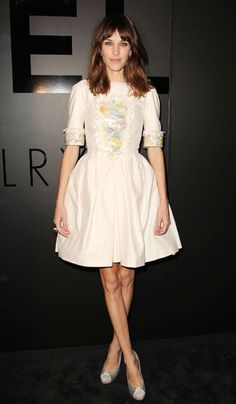 Alexa Chung looking as pretty as a picture in Chanel