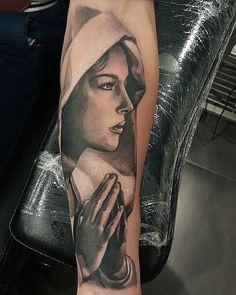 #virginmary #tattoo #tattoos #tattooed #tattooing #tattooartist #tattooart #ink #inked #Comines #Belgium