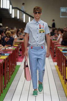 Boyishly Printed Menswear : Au Jour Le Jour