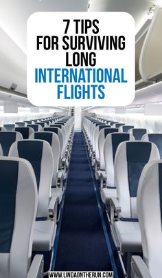 7 Tips For Surviving Long International Flights Traveling on an international flight? Read 7 tips for surviving long international flights to learn about food, entertainment & how to stay healthy onboard. Travel Blog, Travel Advice, Solo Travel, Travel Guides, Travel Hacks, Travel Info, Travel News, Air Travel, Travel Packing