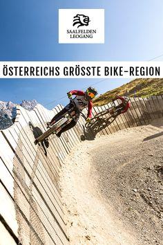Wir sind Teil Österreichs größter Bike-Region Saalbach Hinterglemm Leogang Fieberbrunn. Es erwarten euch über 70 Kilometer Lines & Trails, 9 Bergbahnen und 7 Berge mit nur einem Ticket! Mtb, Holiday Travel, Bicycles, Mountain Biking, Austria, Ticket, Trips, Bike Rides, Road Racer Bike
