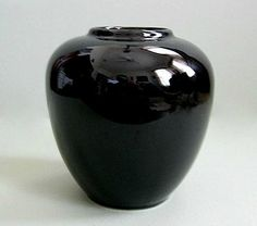 Black Vase Pottery Vase Flower Vase Ceramic Vase Ceramic Pottery Vase Small Vase Decor Modern Floral Porcelain Elegant Decorative Bouquet by afloralaffair on Etsy