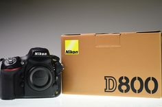 NIKON D800 36.3MP Digital Camera Body Shutter Count 40920 Excellent