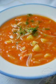 Polish Recipes, Polish Food, Soups And Stews, Thai Red Curry, Mad, Ethnic Recipes, Foods, Polish Cuisine, Polish Food Recipes