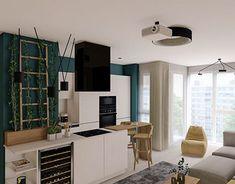 Apartment L  Interior Architecture, Interior Design, Apartment Design, Corner Desk, Designer, Kitchen Design, Furniture Design, Romania, Behance