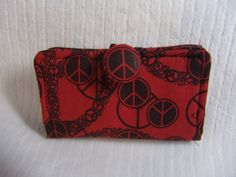 Peace Business Card Holder by Vikster on Etsy, $6.00