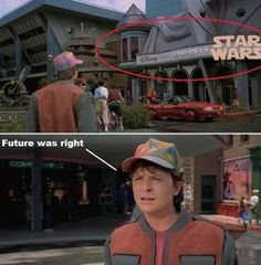 Back to the Future.... They actually predicted something! This is actually pretty scary...
