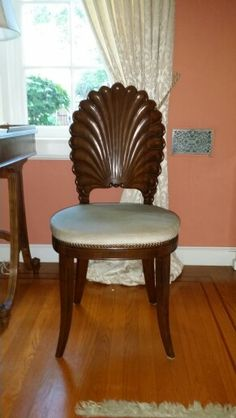My vintage shell back chair
