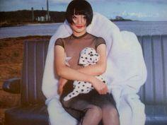 エイプリルな黒/1995年花椿APRIL/photo minsei tominaga