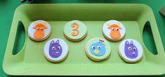 Backyardigans Cookies by Violeta Glace