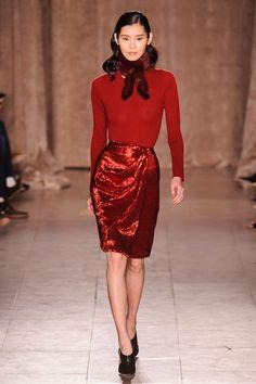 Zac Posen at New York Fashion Week Fall 2015 | Stylebistro.com