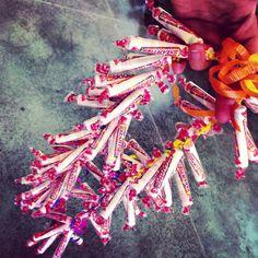 Graduation candy lei