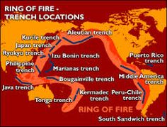 the pacific ring of fire - Google Search