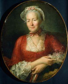 Portrait of a woman, follower of Hubert Drouais, oil on canvas, probably 1760s. Museum of Fine Arts Boston accession no. 43.9