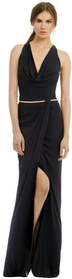 David Meister Clean Slate Gown