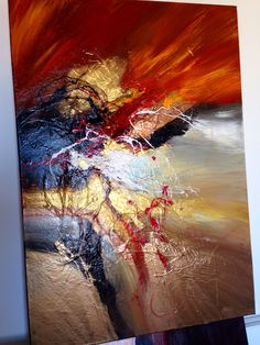 Living abstract paintings by Dan Bunea, www.danbunea.ro