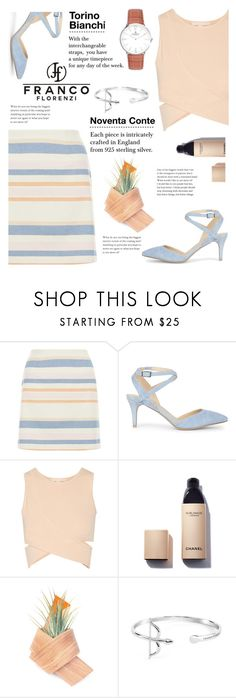 """""""FrancoFlorenzi.com"""" by yexyka ❤ liked on Polyvore featuring New Look, Sole Society, Jonathan Simkhai and Chanel"""