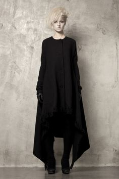 Uma Wang #fashion #black