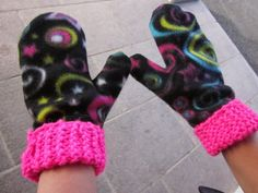Hobbies And Crafts, Arts And Crafts, Diy For Kids, Crafts For Kids, Easy Knitting Patterns, Knit Mittens, Handicraft, Crochet Stitches, Needlework