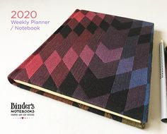Excited to share the latest addition to my shop: Woven Wings covered 2020 Weekly Planner / Notebook, Handcrafted Diary covered by baby sling fabric, wrap scrap planner Notebook Binder, Diary Covers, American Quilt, Baby Sling, Baby Wraps, Rainbow Baby, Handmade Items, Handmade Gifts, Weekly Planner