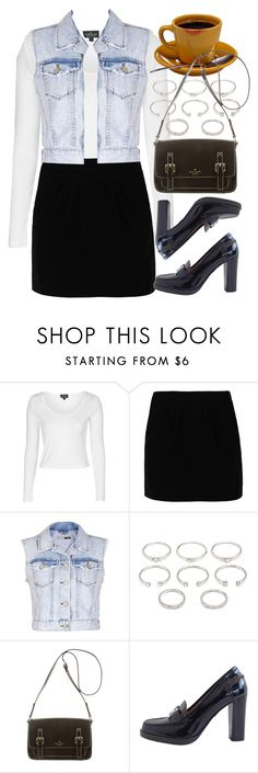 """""""Rachel Green Inspired"""" by foreverdreamt ❤ liked on Polyvore featuring Topshop, Paul & Joe Sister, Forever 21, Kate Spade, Hermès, women's clothing, women, female, woman and misses"""