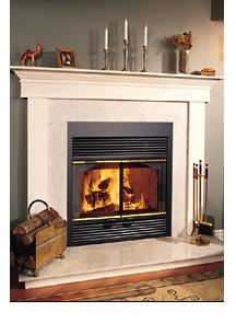 16 Best Wood Zero Clearance Images Through The Roof Hearth Range