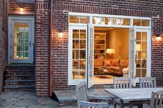 Converted Garage in Tricky Zone - traditional - exterior - dc metro - by Wentworth, Inc.