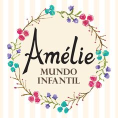 Logo Amélie Mundo Infantil #moda #Fashion #window #kids @infantil #vestido #fofo #loja #modainfantil #store #lindo #flower #vitrine #roupas