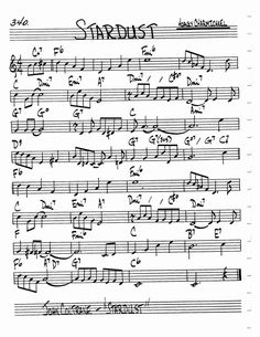 Jazz Standard Realbook chart STARDUST
