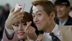 Chief Kim: Episode 3 » Dramabeans Korean drama recaps Jung Hye Sung, Chief Kim, Namgoong Min, Kim Sang, Episode 3, Money Management, Korean Drama, Live Life, Singing