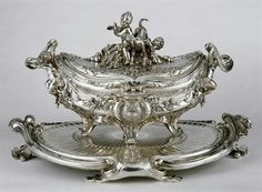 The Germain Silver Service or Portuguese Royal Service: Soup Tureen. 1756-58, Paris. (total of 4)
