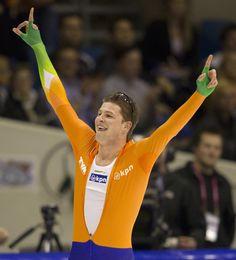 Sven Kramer, the best speed skater of the world
