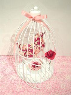 Cage à oiseau décorative